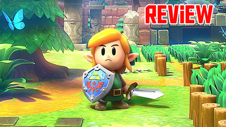 Zelda Link's Awakening Switch Review labeled