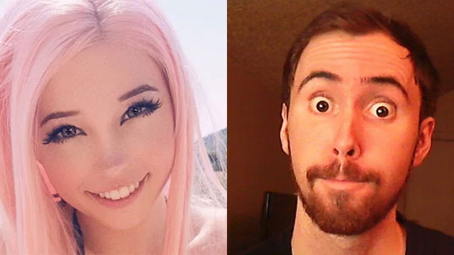 Belle Delphine has joined Asmongold's WoW guild