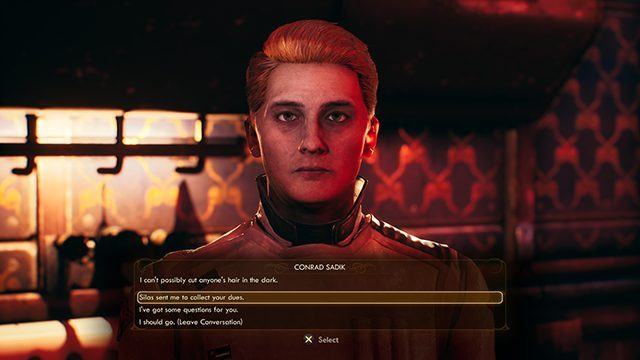 The Outer Worlds A Small Grave Matter   Where to collect gravesite fees