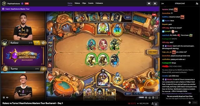 Hearthstone Twitch channel allegedly censors Hong Kong and China related chat