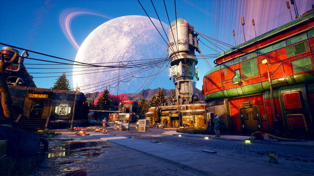 is The Outer Worlds open world