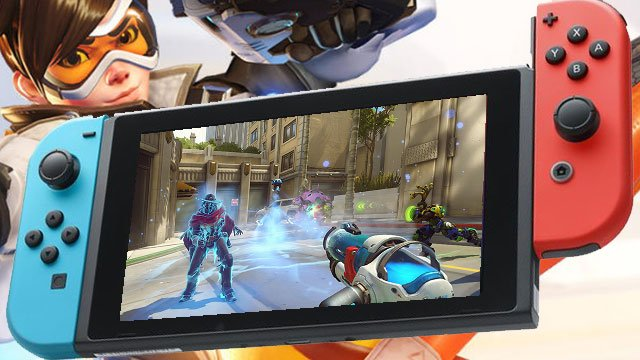 """Overwatch Switch port will let players use Joy-Cons """"like a laser pointer"""""""