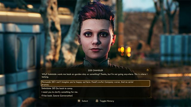 The Outer Worlds A Few Kindred Spirits   Where to find Zoe