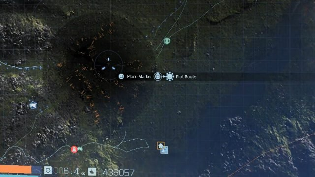 Death Stranding Void Out on Map