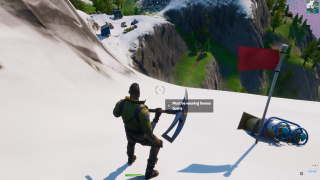 Find the Pickaxe hidden in the Chaos Rising Loading Screen