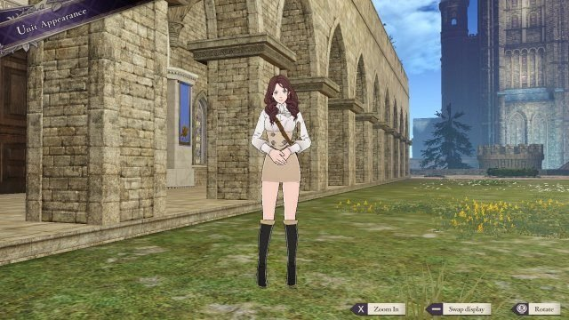 Fire Emblem: Three Houses 1.1.0 update Patch Notes unit appearance
