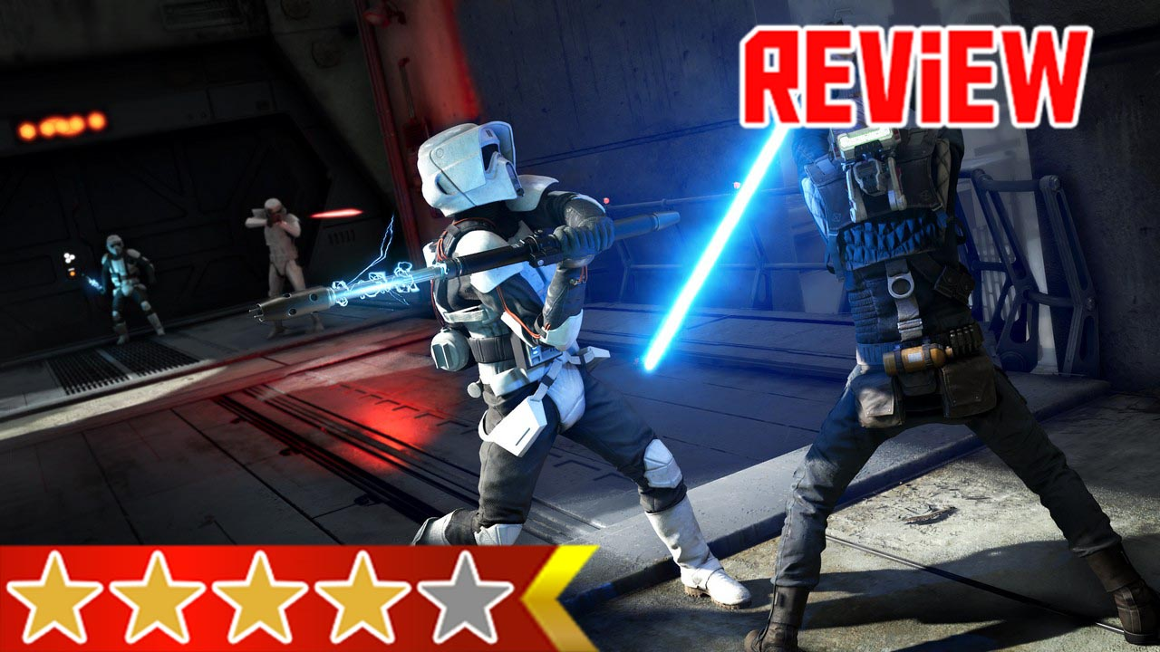 Star Wars Jedi Fallen Order Review A Star Wars Gaming
