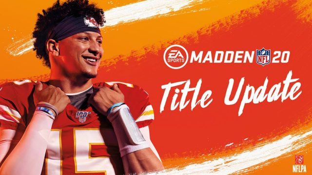 Madden 20 patch notes title update April 8, 2020