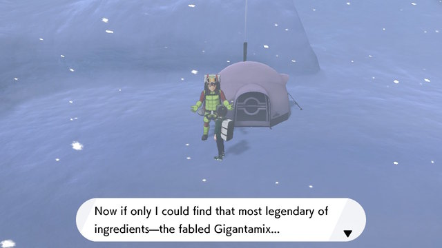 Pokemon Sword and Shield Gigantamix ingredient location