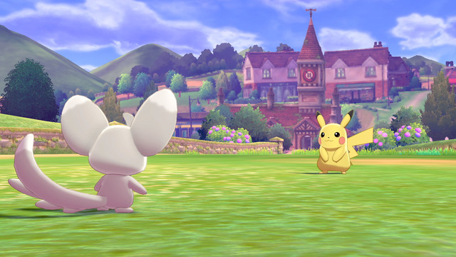 Pokemon Sword and Shield Judge Function