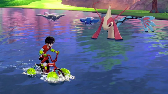 Pokemon Sword and Shield Surf