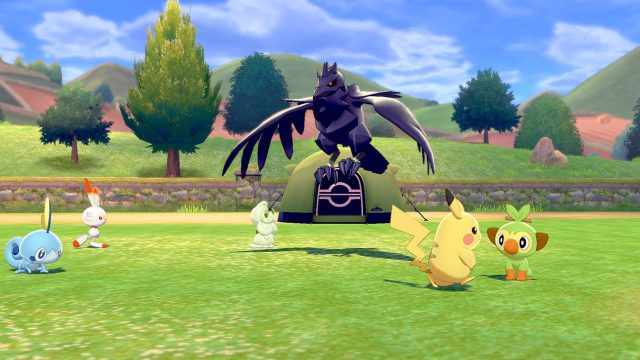 Pokemon Sword and Shield post-game activities