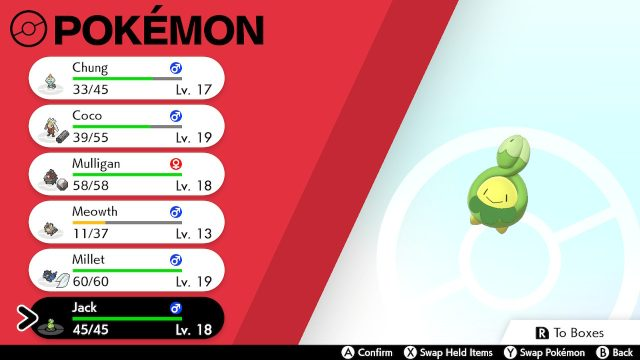 Pokemon sword and shield box link prompt