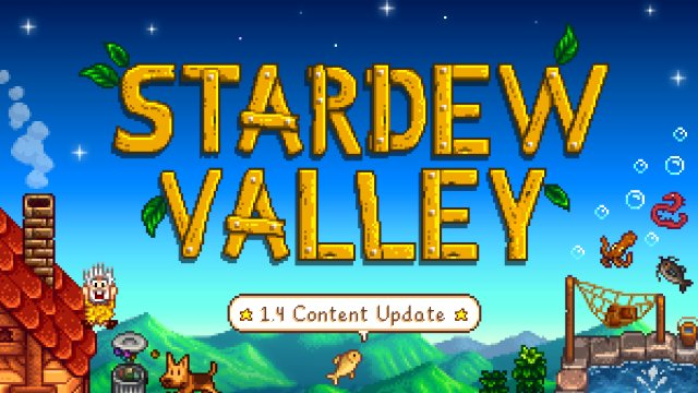 stardew valley 1.4 patch notes everything update