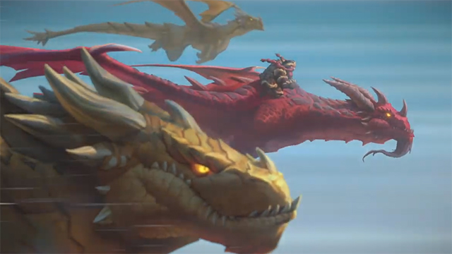 Hearthstone Descent of Dragons expansion announced at Blizzcon