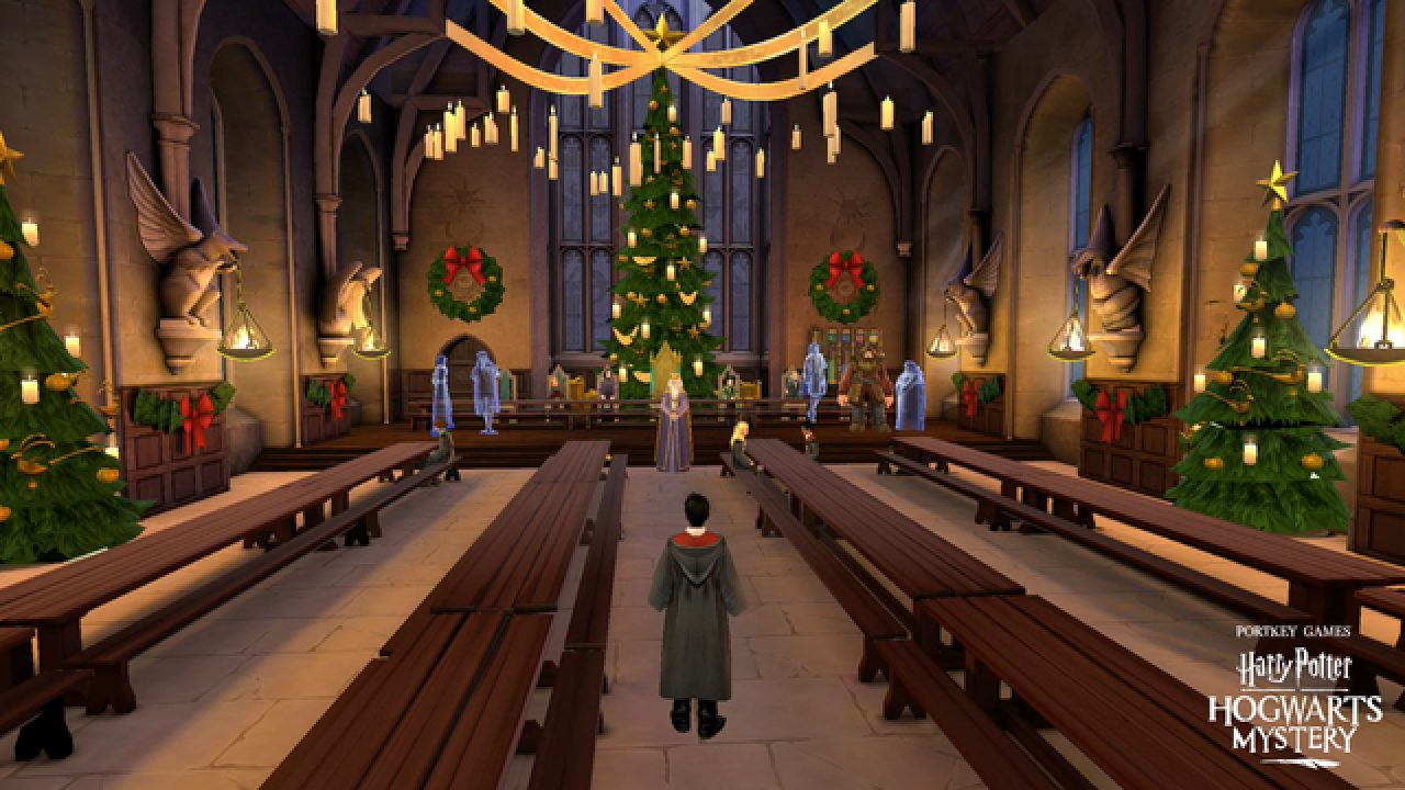 Hogwarts Mystery Christmas 2021 Harry Potter Hogwarts Mystery 12 Days Of Christmas New Side Quests Events Outfits And More Gamerevolution