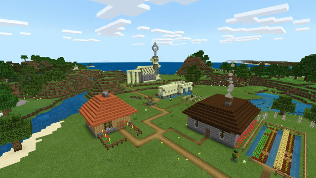 Minecraft Bedrock PS4 edition brings cross-play to ...