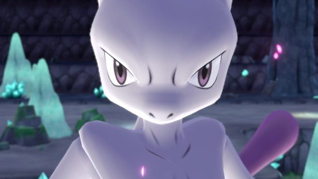 Pokemon Sword and Shield Mewtwo