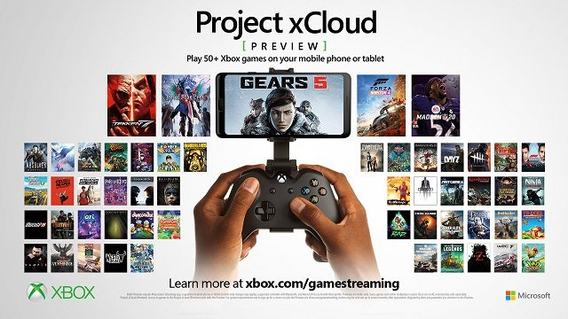 Project xCloud Xbox Game Streaming Promo