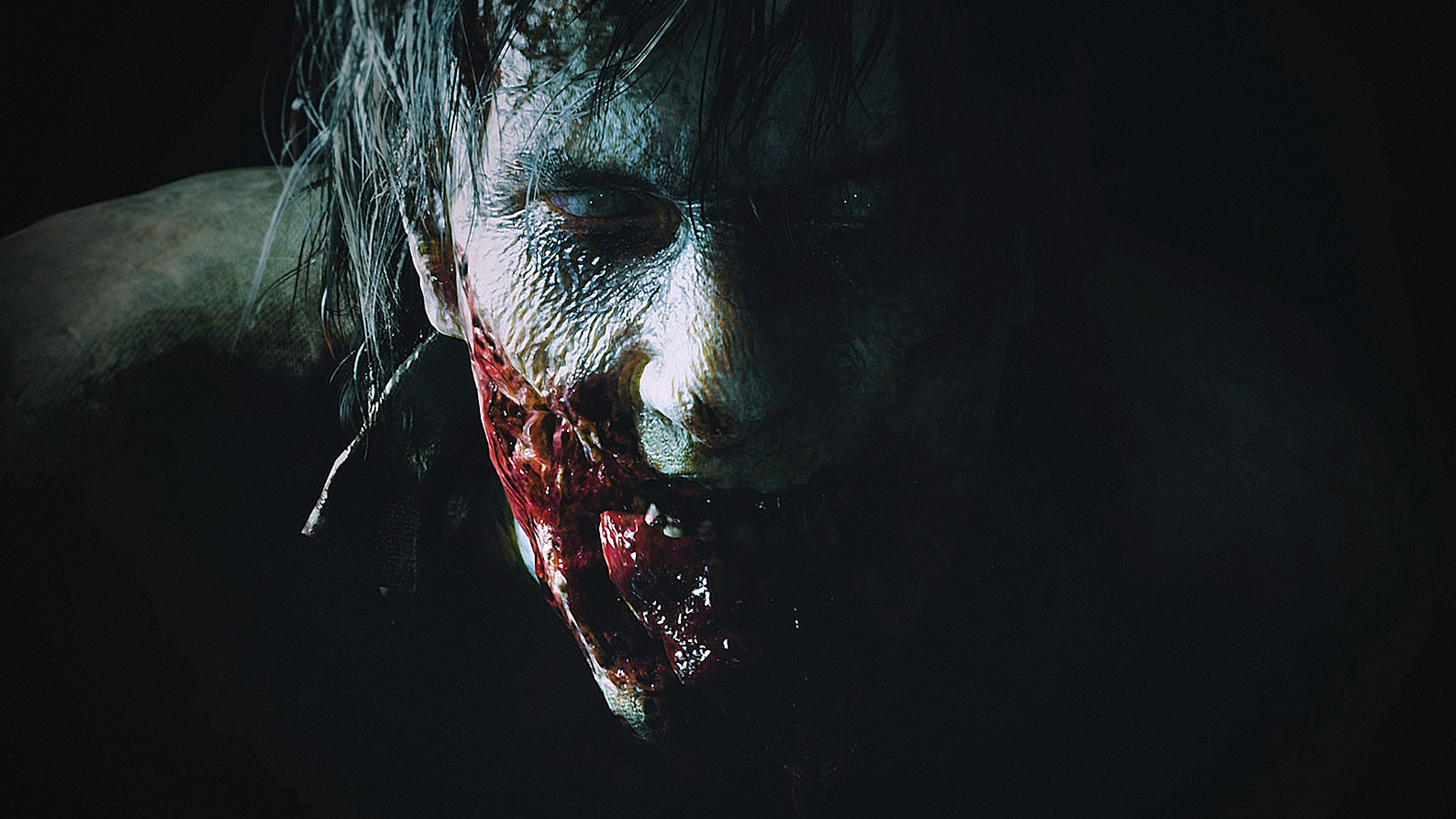 Resident Evil 2 Remake Denuvo DRM scary face