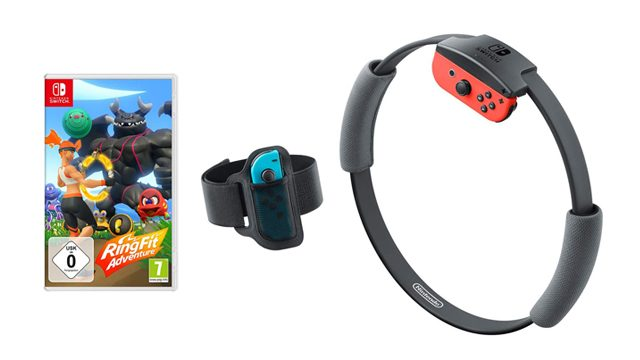 Ring Fit Adventure set up guide