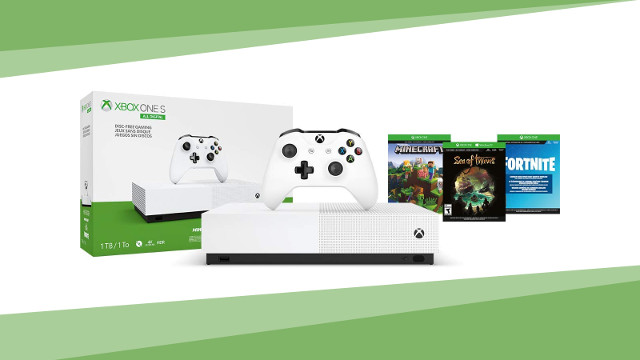 Xbox One S All-Digital sale cover
