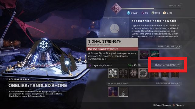 destiny 2 obelisk enhancement