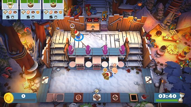 Overcooked 2 update adds free new holiday-themed kitchens and skins