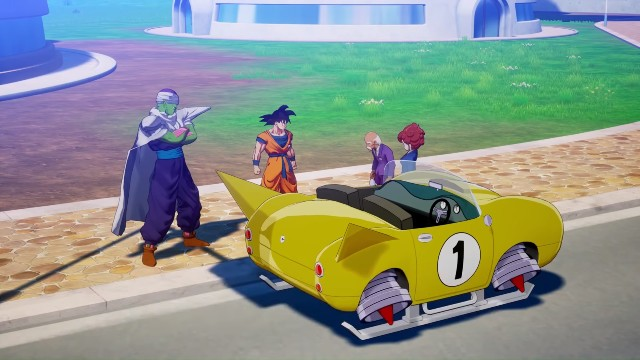 Dragon Ball Z Kakarot Get Car Location Build Race