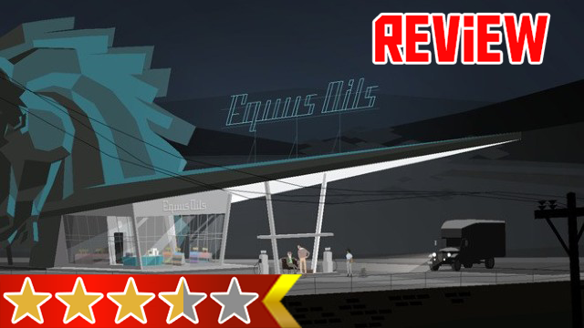 Kentucky Route Zero Review Gas Station red back