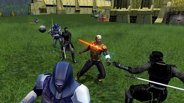 Knights of the Old Republic remake battle