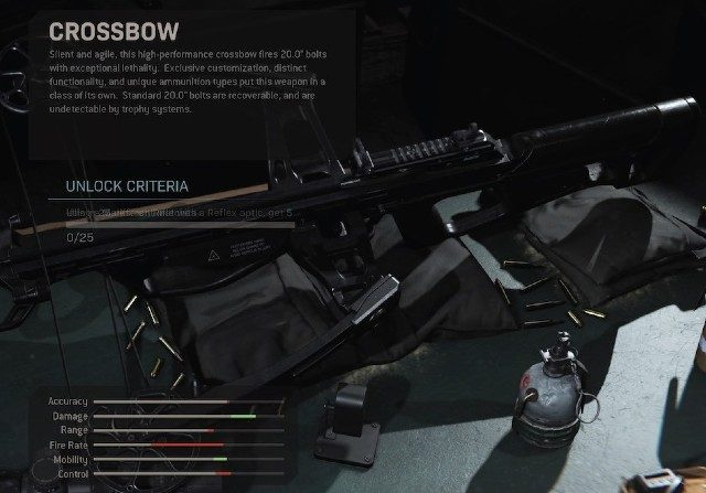 Modern Warfare Update 1.13 Crossbow