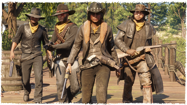 Red Dead Redemption 2 Photo Mode Red Dead Online Gang