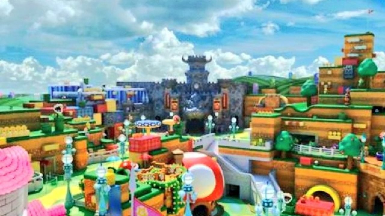 Super Nintendo World Theme Park Launches This Summer In Osaka And Will Come To Us Later Gamerevolution