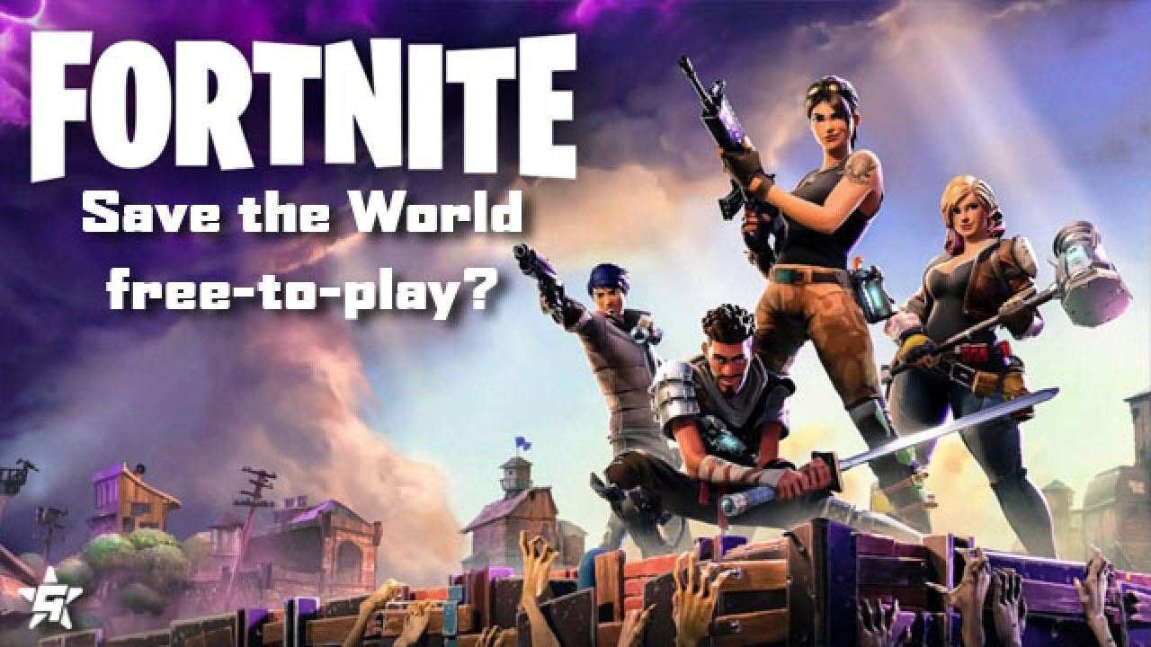 when will be fortnite save the world free