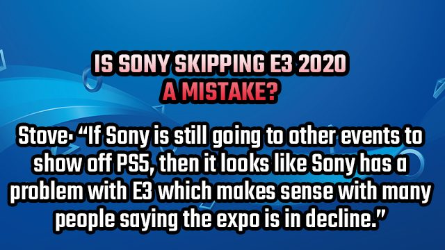 tell gr reply e3 2020 sony