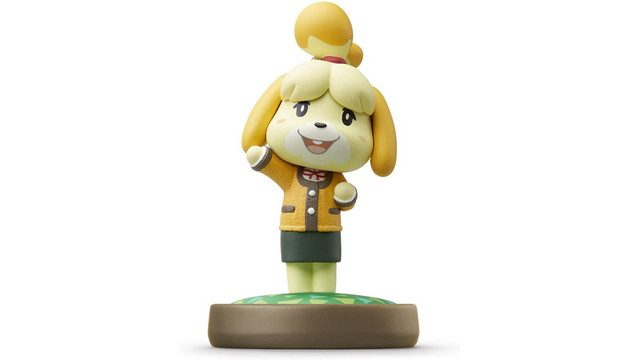 Animal Crossing Amiibo Isabelle Winter