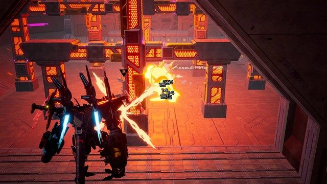 Daemon x Machina PC review combat