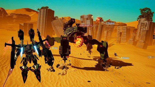 Daemon x Machina PC review immortal