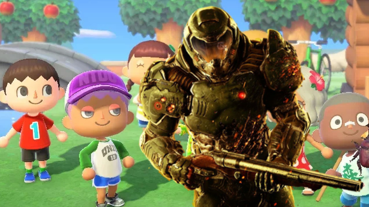 Doom Eternal And Animal Crossing Fans Share The Strangest