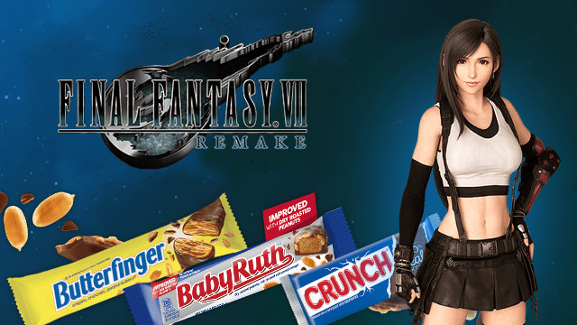 Final Fantasy 7 remake candy in-game boosts