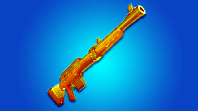 Fortnite Gold Hunting Rifle Location