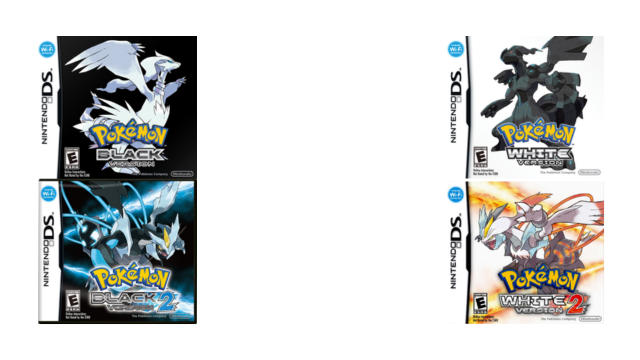 Pokemon Black White Black 2 White 2 Pokemon Home