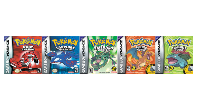 Pokemon Ruby Sapphire Emerald Firered Leafgreen Pokemon Home