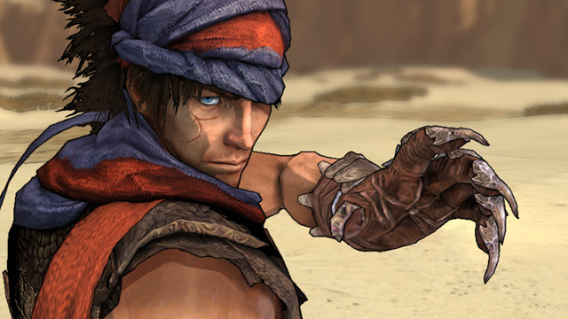 Prince of Persia: The Dagger of Time hero