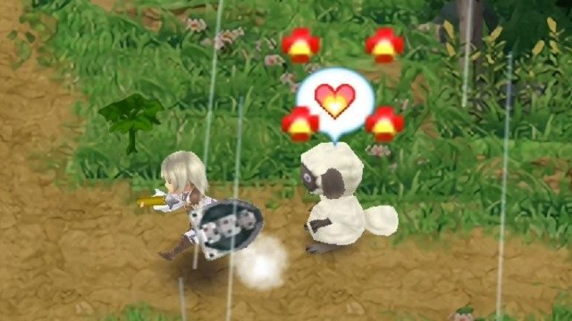 Rune Factory 4 Tame Monster Capture Hearts