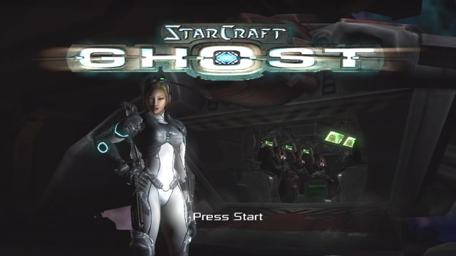 Starcraft Ghost Leaked Build Title Screen