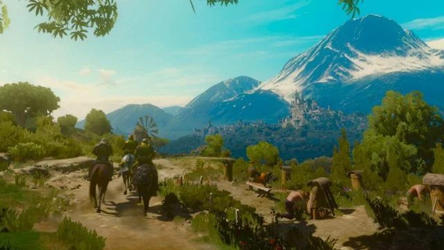 The Witcher 3 Switch 3.6 update