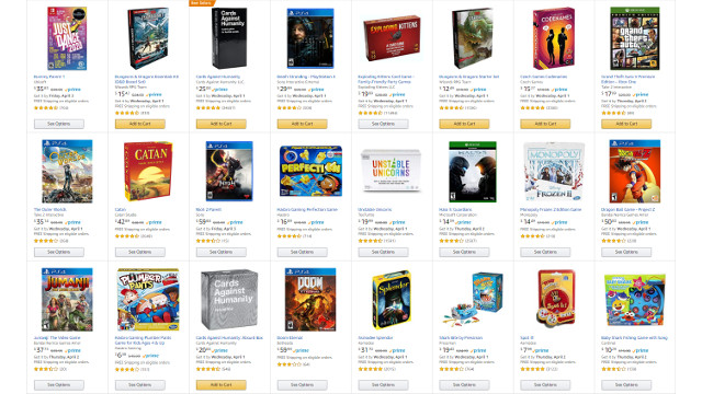 Amazon game deals March 2020