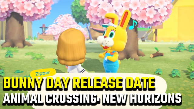 Animal Crossing: New Horizons Bunny Day release date